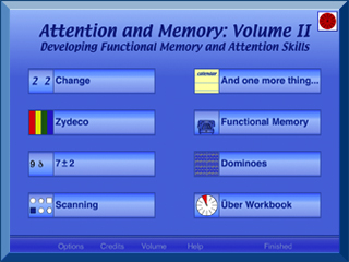 Attention and Memory: Volume II